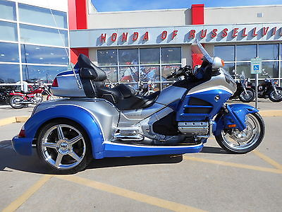 Honda : Gold Wing 2015 honda goldwing trike gl 1800 roadsmith hr signature series two tone paint