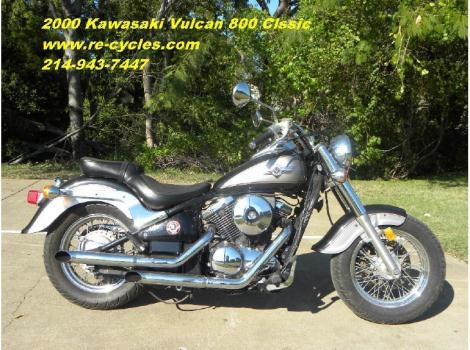 2000 Kawasaki VN800 Vulcan Classic