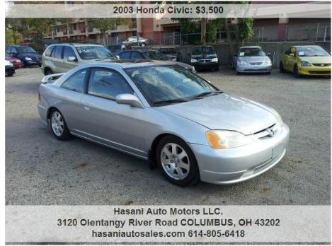 03 Honda Civic Ex Cars For Sale