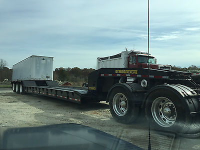 2001 Evaco Superline, lowboy detatchable trailer, tri-axel reconditioned!!!