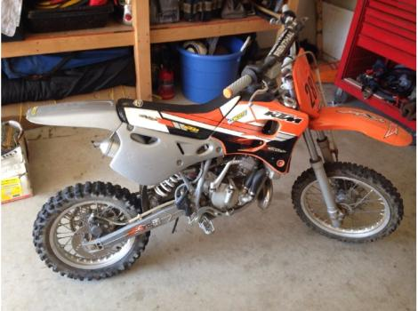 2001 ktm 65 sx motorcycles for sale
