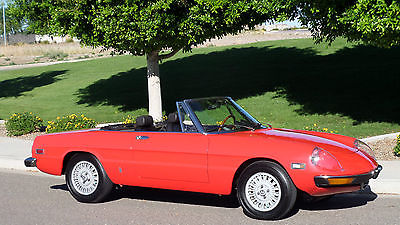 Alfa Romeo : Spider Roadster Spider 1973 alfa romeo spider rust free california car rebuilt engine trans must see