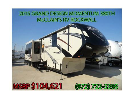 2015 Grand Design MOMENTUM 380TH