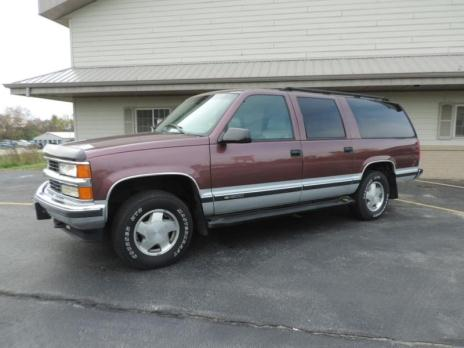 1996 Chevrolet Suburban 1500 4x4 Dusty Rose/Silver 221,975 miles