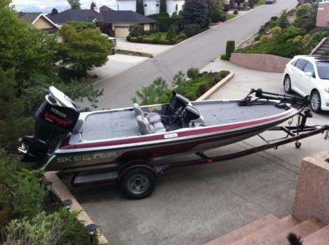 19 Ft. Skeeter Bass Boat 2004 For Sale or Trade