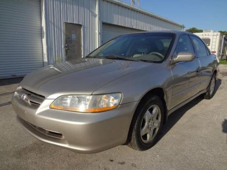1998 HONDA ACCORD EX FULLY LOADED ALL POWER LEATHER AC CD