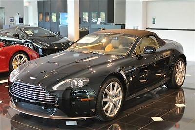 Aston Martin : Vantage SAHARA TAN ALMOST NEW! ONLY 4,878 MILES! FACTORY AUTHORIZED DEALER! FACTORY WARRANTY!