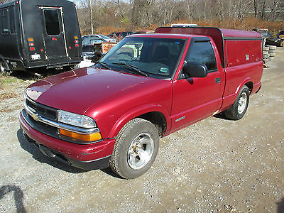 Chevrolet : S-10 Tool Box bed Cap 2003 chevrolet s 10 truck 2 wd w contractor s tool box bed pa inspected 11 15