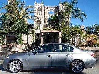 BMW : 5-Series 545iA 2004 silver bmw 545 i