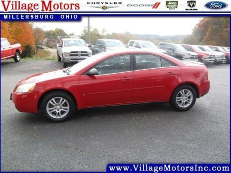 2006 pontiac g6 4d sedan base cars for sale. Black Bedroom Furniture Sets. Home Design Ideas