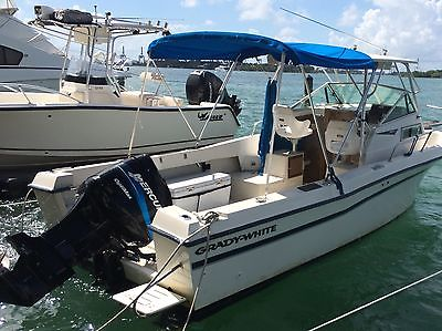 1985 Grady White 24 Offshore fishing boat in MIAMI FL  Mercury 225
