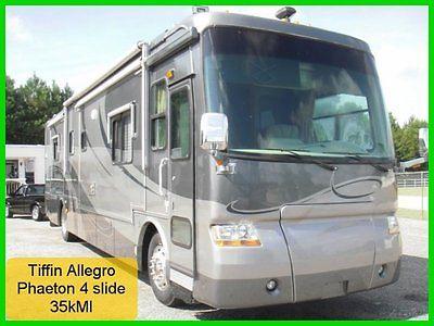 Used 05 Clean Allegro Phaeton 4 slide RV 350HP Diesel 35kMI NewTire RV Motorhome