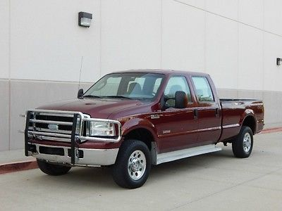 Ford : F-250 FreeShipping 2006 ford f 250 crew cab long bed xlt 4 x 4 1 owner mint