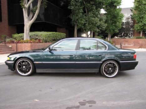BMW : 7-Series 4dr Sedan 74 1995 bmw 740 i 69 k original leather sunroof beauty