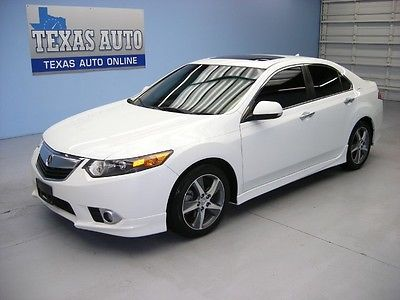 Acura : TSX TSX SPECIAL ED WE FINANCE! 2012 ACURA TSX SPECIAL EDITION ROOF HEATED LEATHER 40K MI TEXAS AUTO