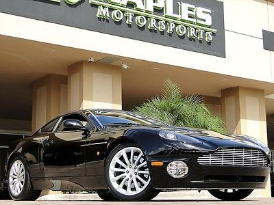 Aston Martin : Vanquish 2002 aston martin vanquish 13 k miles rear seats quilted headliner