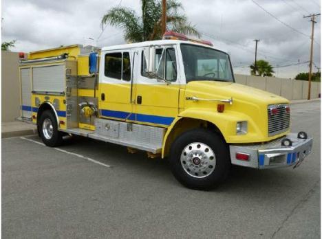 1999 FREIGHTLINER FL80 Luverne Brush Rescue Fire Truck