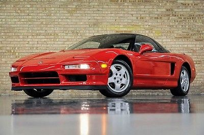 Acura : NSX Sport Coupe Recent Service 36 k miles timing belt just replaced new tires mb quartz speakers clean wow