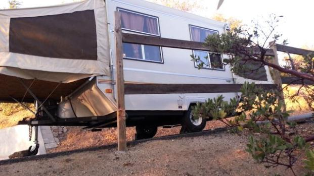 1987 palamino 10 ft pop up camper