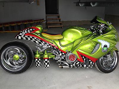 Custom Built Motorcycles : Pro Street Suzuki Hayabusa 1380cc Custom
