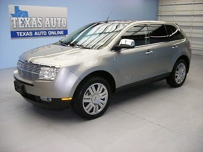 Lincoln : MKX MKX LIMITED ED WE FINANCE!! 2008 LINCOLN MKX LIMITED ED PANO ROOF NAV HEATED LEATHER TEXAS AUTO