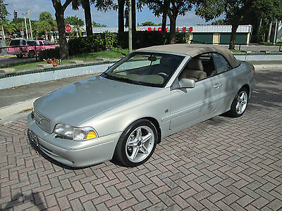 Volvo : C70 Base Convertible 2-Door 2001 c 70 turbo convt 1 owner 82 k fla miles heated seats low reserve new