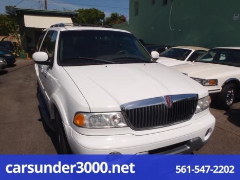 2000 Lincoln Navigator 4dr