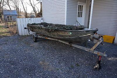Jon Boat/ Duck Boat