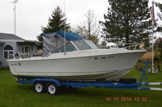 24 ft Scottie Craft Inboard/Outboard