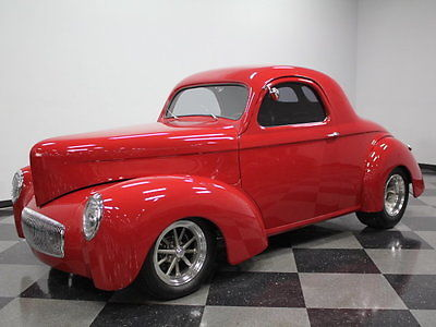 Willys : Americar SHOWCAR, NASCAR BUILT 400 HP, 350 V8, AUTO, A/C, 4 WHL DISCS, COILOVERS, PERFECT