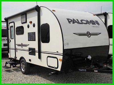 2015 Palomino Palomini 150RBS New RETRO VINTAGE TEAR DROP CAMPER RV TRAILER LITE
