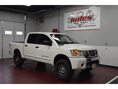 Nissan : Titan S Clean Title One Owner 4x4 Truck Custom Wheels New Tires Auto Transmission