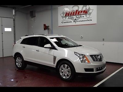 Cadillac : SRX Luxury Sport Utility 4-Door One Owner Clean Title Black Leather Auto Transmission Navigation Sunroof