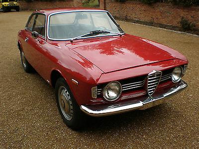 Alfa Romeo : Other Sprint GT Restored, 2 owners, 1967 Alfa Romeo GIULIA Sprint GT 1600 stepnose  GTV Ferrari
