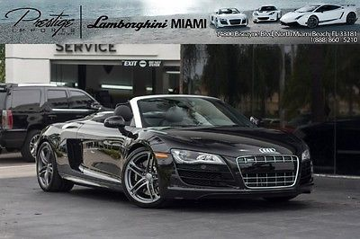 Audi : R8 5.2L 2012 5.2 l