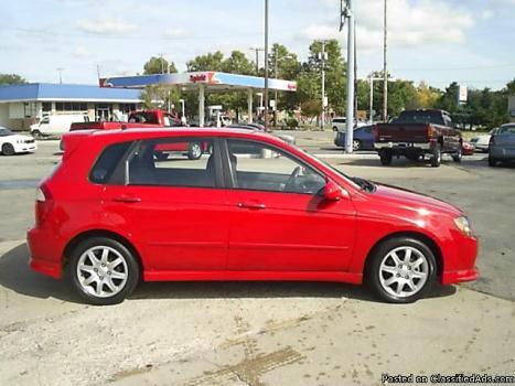 2006 Kia Spectra5 5 Speed
