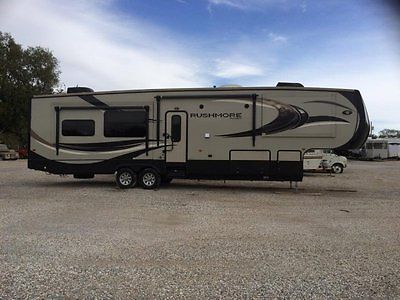 2014 CrossRoads Rushmore Jefferson RF39JE 5th Wheel 4 Slides 39 FT
