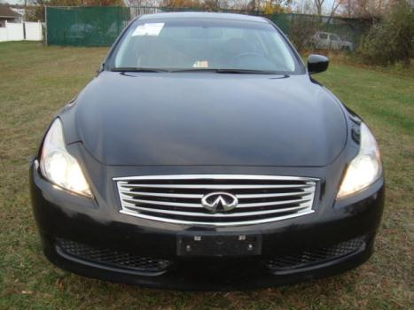 Infiniti : G G37 Navigation Bckp Cam Bose Xenon HID Salvage Infiniti G37 Coupe Salvage Rebuildable Repairable Wrecked Project Damaged FIXER