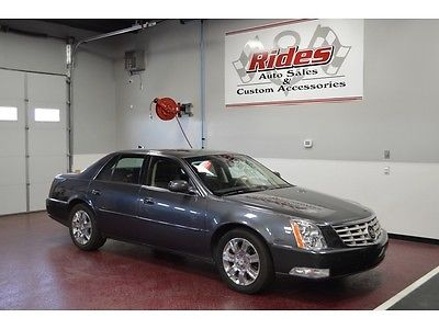 Cadillac : DTS Platinum Clean Title Black Leather Navigation Auto Transmission Air Cruise AC We Finance