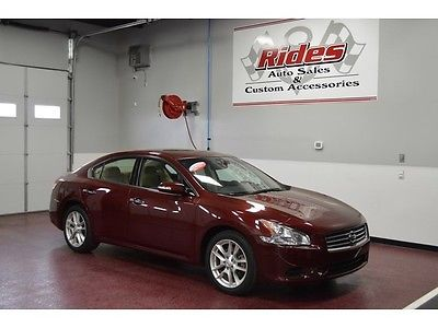 Nissan : Maxima 3.5 S One Owner Clean Title Leather Seats Auto Transmission ABS Sun Roof