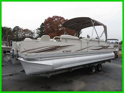 2006 Manitou Osprey 24 Fishing Pontoon Evinrude E-TEC 115 Trailer We Export
