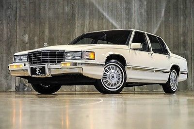 Cadillac : DeVille Base Sedan 4-Door 1993 cadillac deville sedan wow absolutely pristine only 44 k mi