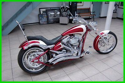 Big Dog : Bulldog 2007 big dog bulldog used 14191 b 117 cubic inch engine red and white