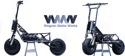 Other Makes : V-Strada 150R TWO - Wagner Motor Works V-Strada 150-R Off Road Scooters - Free Shipping!