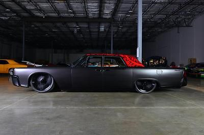 Lincoln : Continental custom, hot rod, bagged, slab, lowrider, cadillac 1964 lincoln continental
