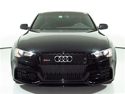 Audi : Other 2dr Coupe 2014 rs 5 4 k miles lane assist drivers assist bang olufesen sound rear camera