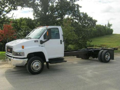 Gmc topkick c5500 cab chassis truck for sale