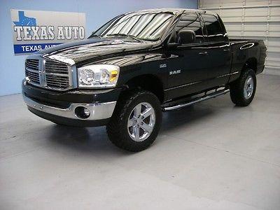 Dodge : Ram 1500 RAM1500 HEMI WE FINANCE!!! 2008 DODGE RAM 1500 BIG HORN 4X4 HEMI CREW CAB 20 RIMS TEXAS AUTO