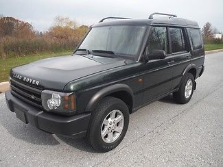 Land Rover : Discovery S LOW MILEAGE ONE OWNER GREEN OVER TAN ALL WHEEL DRIVE 4X4
