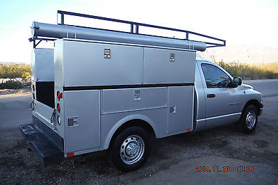 Dodge : Ram 2500 UTILITY WORK TRUCK Dodge Ram 2500 Work Truck Utility Bed High Side Tool Boxes